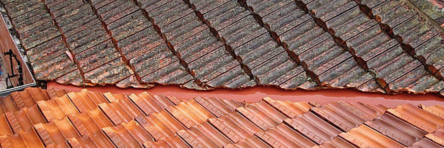 High Pressure Roof Cleaninga